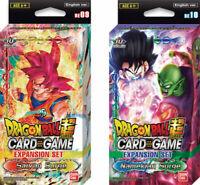 Bandai Dragon Ball Super NAMEKIAN and SAIYAN SURGE Expansion Deck Box Set