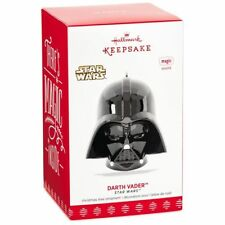 2017 Hallmark Keepsake Star Wars Darth Vader Helmet Ornament Breathing Sound NEW