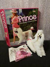 COMPLETE 1984 PRINCE BARBIE DOLL POODLE DOG PET MATTEL 7928