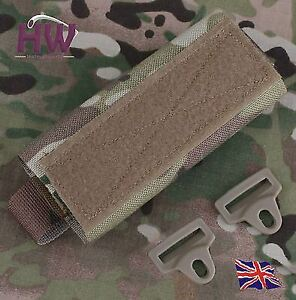AIRSOFT OPS TACTICAL HELMET RAIL COUNTER WEIGHT POUCH MULTICAM