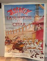 Superbe affiche de cinéma Astérix et Obélix 1 metre 60 cm sur 1 metre 15 TBE