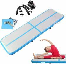 FBSPORT 10ft Inflatable Air Gym Mat Track Tumbling Floor Gymnastics Mat+Pump US