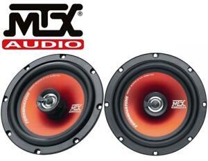"MTX TR65C 6.5"" 2-Way Coaxial Car Audio Speakers - 60w RMS"