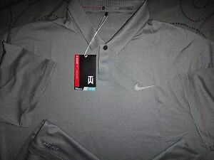 NIKE TIGER WOODS COLLECTION GOLF DRI-FIT POLO SHIRT  XL MEN NWT $90.00
