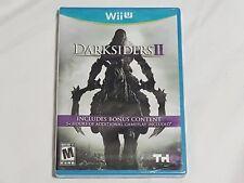 NEW (Read) Darksiders II Nintendo Wii U Game SEALED dark siders 2 US NTSC