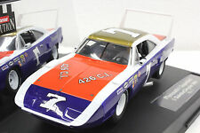 CARRERA 25719 PLYMOUTH SUPERBIRD NEW EVOLUTION 1/32 SLOT CAR IN DISPLAY CASE