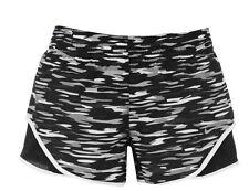 Nike Mujer Racer Correr Sport Pantalón Negro Blanco Todos Tamaños Nueva Etiqueta