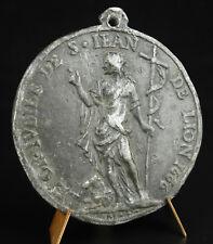 Médaille religieuse Jubilé de l'Eglise Lyonnaise de 1660 MICOT Louis Lyon medal