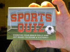 SPORTS QUIZ CARD GAME PERFECT TO GET THE CHRISTMAS PARTY STARTED