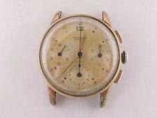 Universal Geneve Compax cal 285 ALL ORIGINAL VERY RARE 3 Register Chronograph