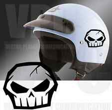 adesivo teschio no fear sticker skull death adesivi auto casco scooter laptop