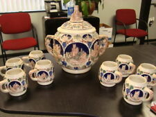 German Castles Mug Coffee Cup Stein Style Ruine Maus Vintage Collectible Set