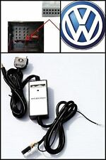 VW iPod iPhone Aux for Select 2002+ Passat Jetta Golf GTI Rabbit etc Adapter Kit