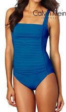 Calvin Klein Badeanzug S blau 59875D3