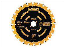 DEWALT - Circular Saw Blade 165 x 20mm x 24T Cordless Extreme Framing
