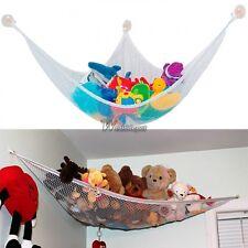 Larger Hanging Kids Toy Hammock Bag Stuffed Organizer Animals Doll Storage Net