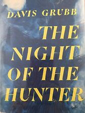 THE NIGHT OF THE HUNTER BY DAVIS GRUBB *FIRST EDITION*