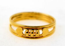 22CARAT GOLD FABULOUS BAND RING UNISEX BEST WEDDING ANNIVERSARY GIFTING JEWELRY