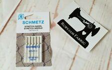 Schmetz Stretch Machine Needles Size 90/14 - Pack of 5 - FREE POSTAGE in AUST
