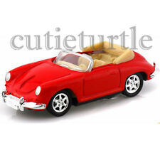 Welly Porsche 356 Convertible 1:60 Diecast Toy Car 58156D Red