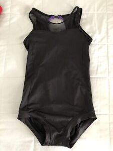 Sadie Jane Dancewear Black Inspire Leotard Size child YXL