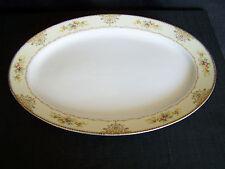 "Royal Embassy China Jackson Pattern 16 1/2"" Oval Serving Platter"
