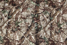 NEOPRENE CAMOUFLAGE SHEET. Leaf pattern camo. 128cm x 79cm. 1Sq Metre 2mm thick.