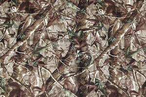 NEOPRENE CAMOUFLAGE SHEET. Leaf pattern camo. 128cm x 79cm. 1Sq Metre 2mm thick.