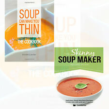 Soup Collection 2 Books Set Pack (Soup Can Make You Thin,The Skinny Soup Maker)