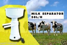 Dairy electric crème lait séparateur centrifuge 50 l/h écumeur 220V