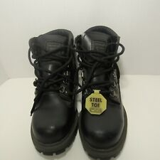 Wrangler Work Wear Insulation Mens Steel-Toe Work Boots Oil/Slip Resistant, Sz:5