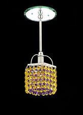 Pecaso Lighting Cubix Pendant with Strass Swarovski Crystal