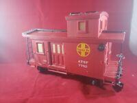 Lionel G Scale ATSF 7702 Caboose Brick Red