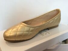 New NIB Angel Steps: Flat Gold Shoes for Women (Size: 8.5)