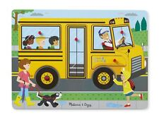 Melissa And Doug The Wheels on the Bus Sound Puzzle #739 #0739