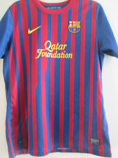 Barcelona 2011-2012 Home Football Shirt Size Extra Large Boys /39146