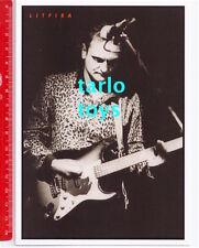LITFIBA - Piero Pelu'  - New Wave  italy postcard - cartolina