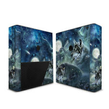 Xbox 360E Console Skin - Bark At The Moon by Antonia Neshev - DecalGirl Decal