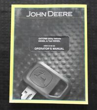 Originale John Deere Gator Diesel & Sentiero Utilità Veicolo Operatore Manual