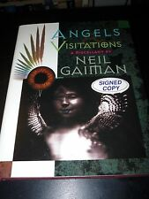 Angels and Visitations: A Miscellany Neil Gaiman Signed