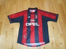Adidas 200-03 ASSOCIAZIONE CALCIO AC MILAN Mens Soccer Futbol Home Jersey  Kit XL e55f676ac449e