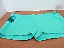 PATAGONIA~Green ACTIVE MESH BOY SHORTS~Women's XL~NWOT