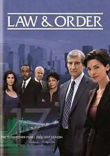 Law & Order: The Seventeenth Year, New DVD 5 disc set