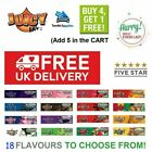Juicy Jays King Size Slim FRUITY Flavoured Rolling Papers RIZLA SKINS 18 <br/> BUY 4 GET 1 FREE (ADD 5 TO THE BASKET)