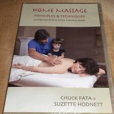 DVD Home Massage - Principles & Techniques