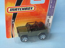 Matchbox Land Rover 90 SVX Green Body 65mm Toy Model Car in BP