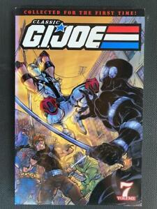 CLASSIC G.I JOE VOLUME 7 LARRY HAMA GRAPHIC NOVEL TPB IDW PUBLISHING HASBRO