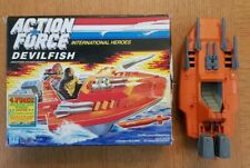 1986 Gi Joe UK Action Force Devilfish Boxed Complete