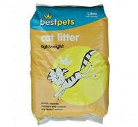 LIGHT WEIGHT CAT LITTER - 500g, 1kg, 3kg, 5kg, 10kg or 30L Best Pets bp Granules