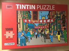 Tintin 1000 piece jigsaw puzzle 50cm x 75cm (plus Poster) Great Fathers Day Gift